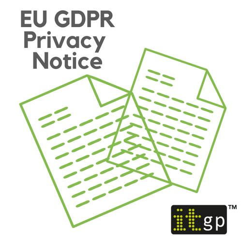Privacy Notice (GDPR REC 4.1)