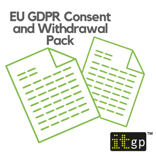 EU GDPR Consent and Withdrawal Pack