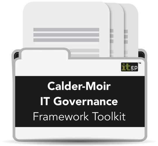 Calder Moir IT Governance Framework Toolkit