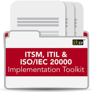 ITSM, ITIL 4 & ISO 20000 Toolkit
